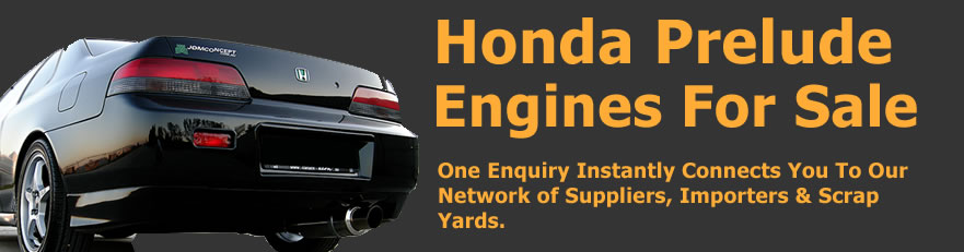 Honda Prelude engines for sale