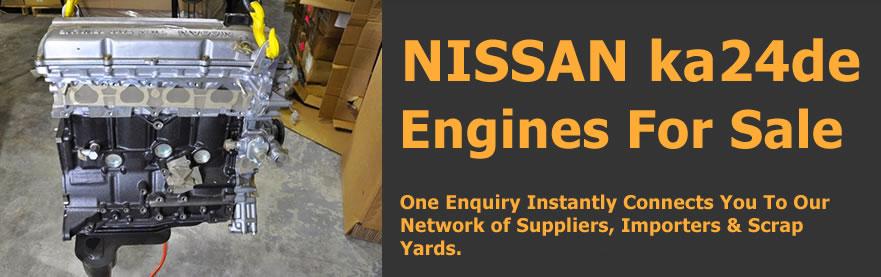 nissan ka24de 2.4 engines for sale South Africa