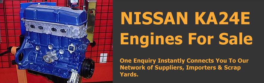 nissan ka24e engine for sale