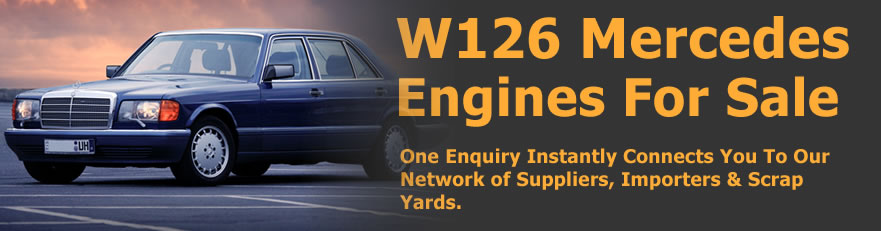 Mercedes w126 Engines For Sale