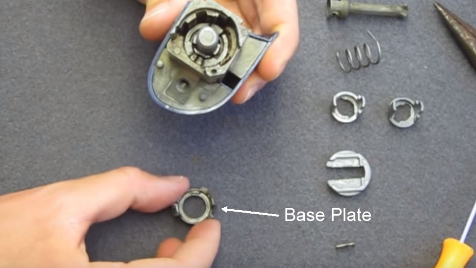 BMW-E46-Base-Plate-For-Lock
