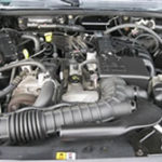 2.3 liters Duratec ford engine