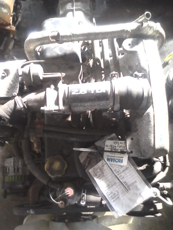 Isuzu KB250 4JA1T engine