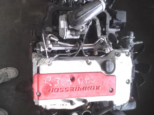 Mercedes Kompressor CLK230 Engine